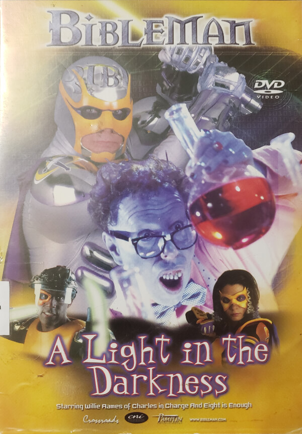 """Front Cover of the DVD, """"A Light In The Darkness"""""""