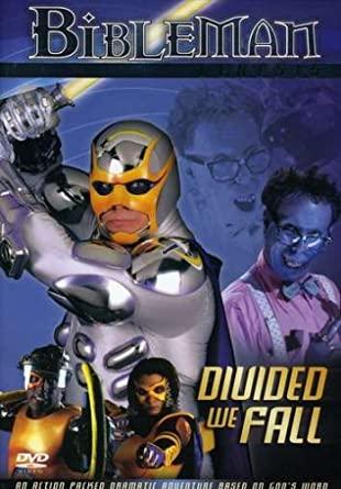 "Cover of DVD, ""Bibleman Genesis: Divided We Fall"""