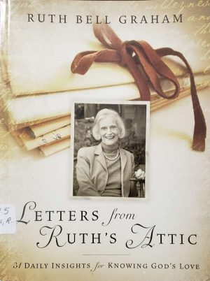 "Front Cover of the Book, ""Letters From Ruth's Attic"""