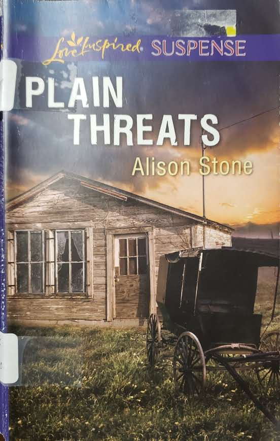 """Front Cover of the Book, """"Plain Threats"""""""