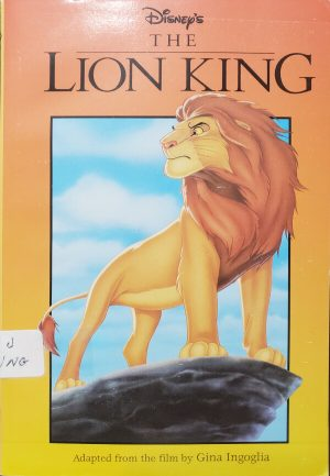 "Front Cover of the book, ""The Lion King"""