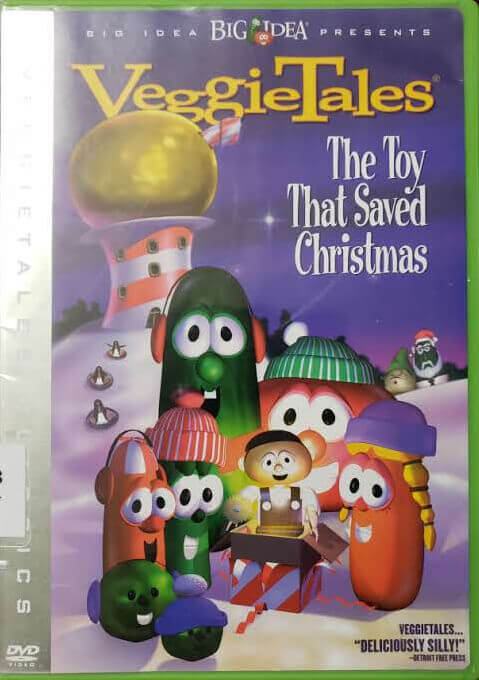 "Front Cover of the DVD, ""The Toy That Saved Christmas"""