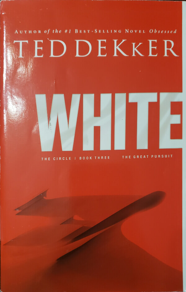 """Front Cover of the book, """"White"""""""